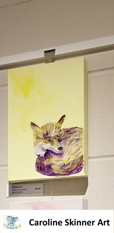 Fox wall art. Urban fox print home decor. Woodland animal art print ...