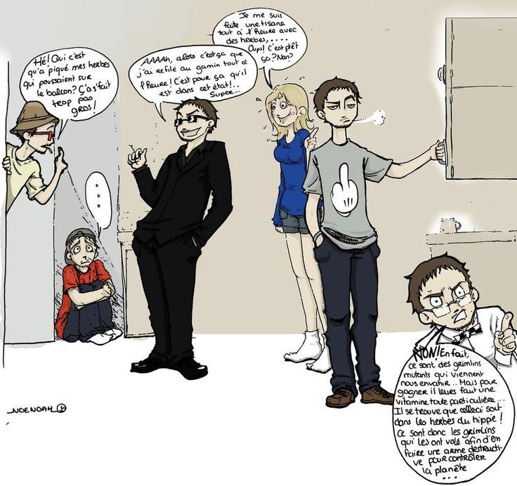 La vie de Salut les Geek.. by noemimy.deviantart.com on @DeviantArt