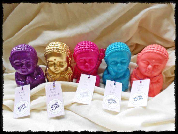Budas Bebé de yeso pintados a mano! Súper originales