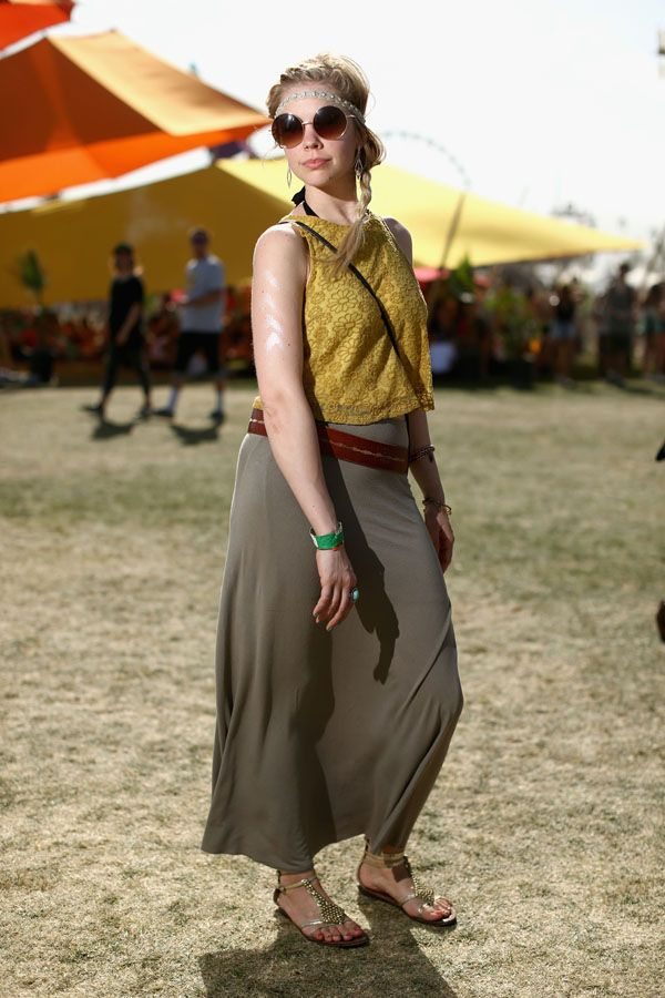 Yellow top | Co... Music And Arts Festival