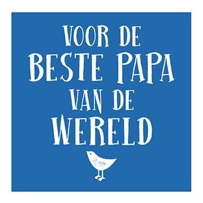 Alle vaders zijn geweldig, maar je weet dat die van jou de beste is - een constante bron van vriendschap, bescherming en liefde. Met deze fraaie verzameling citaten over alles wat zo fantastisch is aan vaders, kun je nu dankjewel zeggen tegen de beste vader van de wereld.
