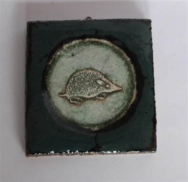 ¤¤ Lite bilde av Christine Hald - Selges av AdaL fra Yven på QXL.no. 9,5 x 9cm. Signert på baksiden. Hempe bak for oppheng