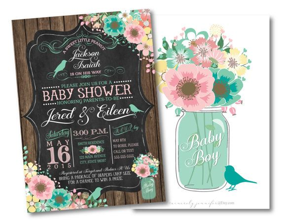 480 best images about baby shower ideas on pinterest | baby shower, Baby shower invitations