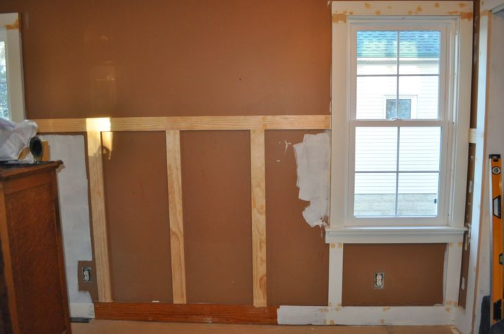 wainscoting, bedroom reno, dutch boy, white lullaby paint, DIY, trim, baseboards, bedroom wainscoting