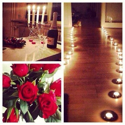Now Thats Love When Your Man Sets All This Up For You When You Get Home Lov