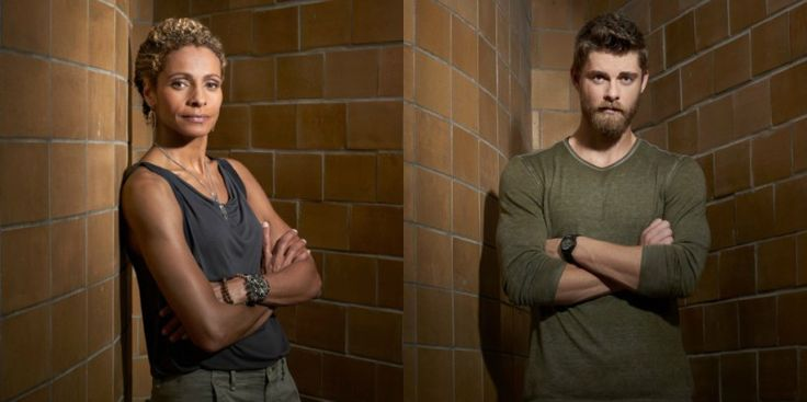 Blindspot Season 2 - Michelle Hurd and Luke Mitchell
