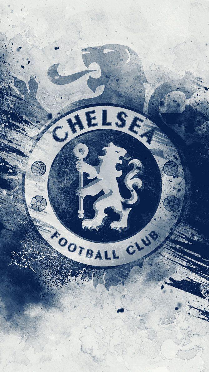 670x1191 Chelsea Hd Logo Wallpaper By Kerimov23 Áº£nh Tường Cho Ä'iện Thoại Bong Ä'a Thể Thao