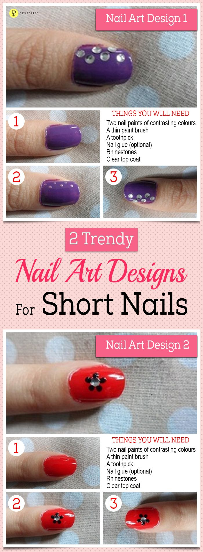 Girls simply cannot do without nail paints. The latest trend that has caught up. Almost every girl every where has fallen in love with nail art. From college to office to home to changing up your style every day, girls are showing off their creative side with some trendy and really interesting nail art these days.