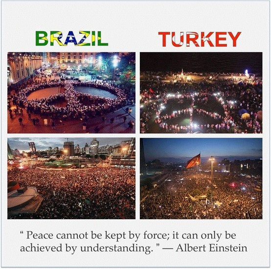#BrazilChange #occupyTurkey