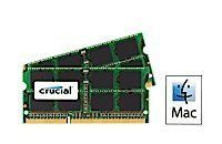 8GB Kit (4GBx2) Upgrade for a Apple MacBook Pro (13-inch, Mid 2010) System (DDR3 PC3-8500, NON-ECC, )