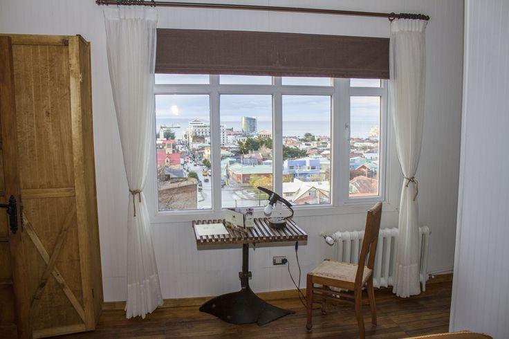 Vista panorámica desde la habitación. #habitacion #hotelboutique #chile #magallanes #travel #puntaarenas