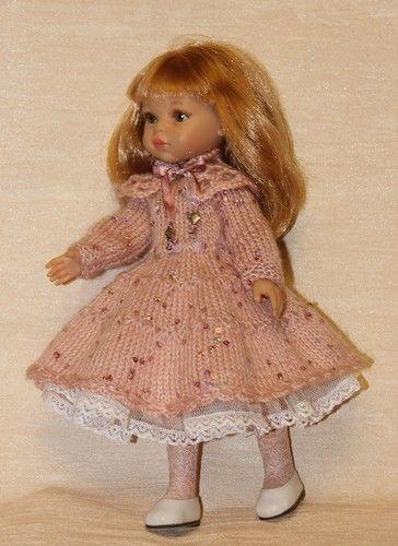 Украшаем платье вязаной оборкой