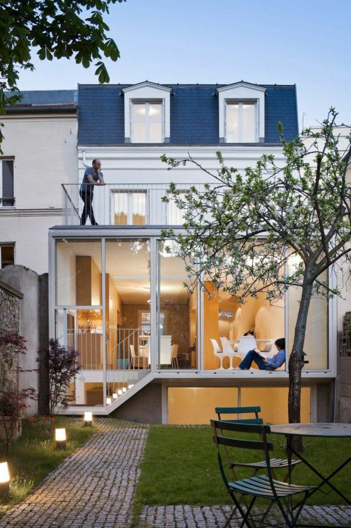 120 best Extension maison images on Pinterest House design, House - renovation maison ancienne photos