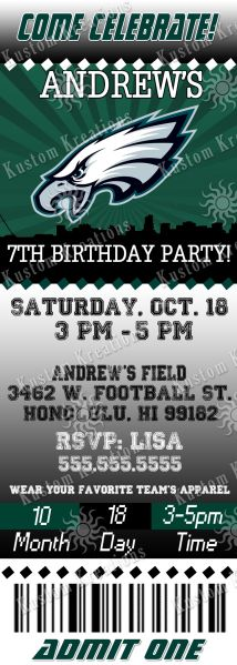 nfl-philadelphia-eagles-ticket-birthday-invitation