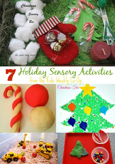 Mess For Less: 7 Holiday Sensory Activities and the Kids Weekly Co-Op