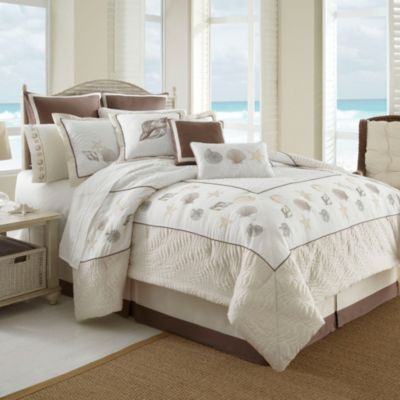 Outer banks 6 8 piece comforter set - Bed bath and beyond bedroom furniture ...