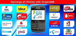 Single SIM Recharge