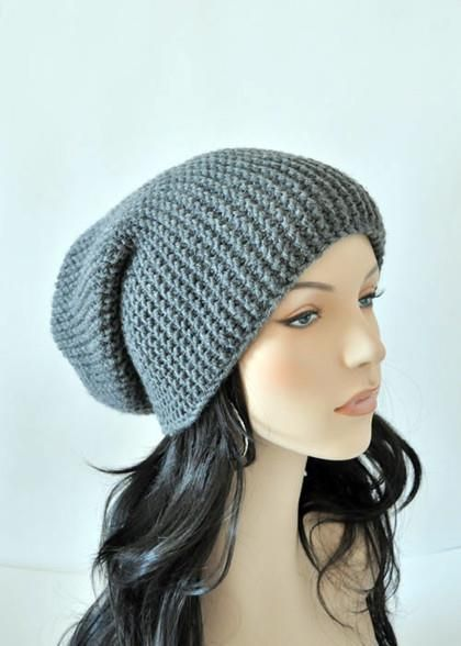 Вязание на спицах шапка колпак