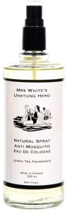 Mrs White's Unstung Hero™ - natural mosquito repelling Eau de Cologne 250 ml