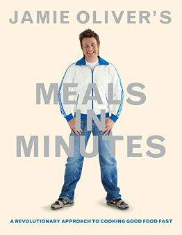 Jamie Oliver's Meals In Minutes - try the Piri Piri Chicken - all Jamie's stuff in great - if you like him, you'll love this new cookbook - I rate this an 8