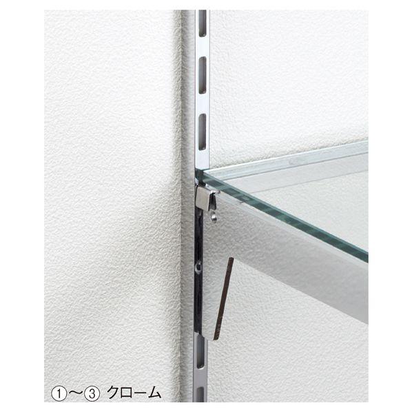 ストエキ|店舗什器|システムオプション|直付け柱(スリット)|直付け柱 クローム