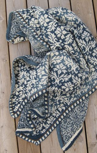 By anne.ronne | stunning Norwegian shawl | knit | free pattern can be found on Raverly