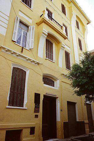 Alexandria City of Memory: Cavafy's flat at 10 Rue Lepsius