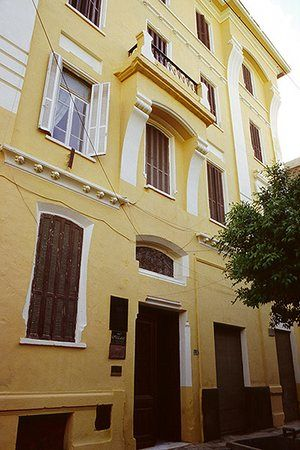 Alexandria City of Memory: Cavafy's flat at 10 Rue Lepsius