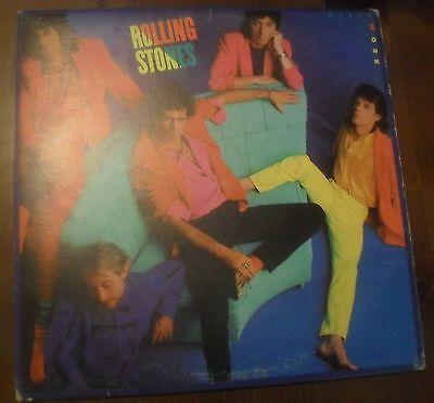 vinile 33 giri - Rolling Stones - Dirty Work - 1986 - LP