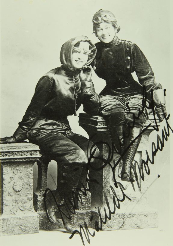 Harriet Quimby and Matilde Moisant - The Daredevil Gal Pals Who Conquered the Sky