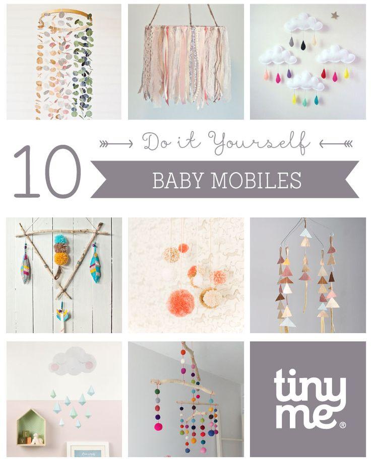 10 DIY Baby Mobiles ~ Tinyme