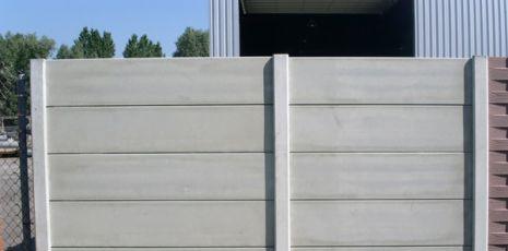 Afbeeldingsresultaat voor betonschutting