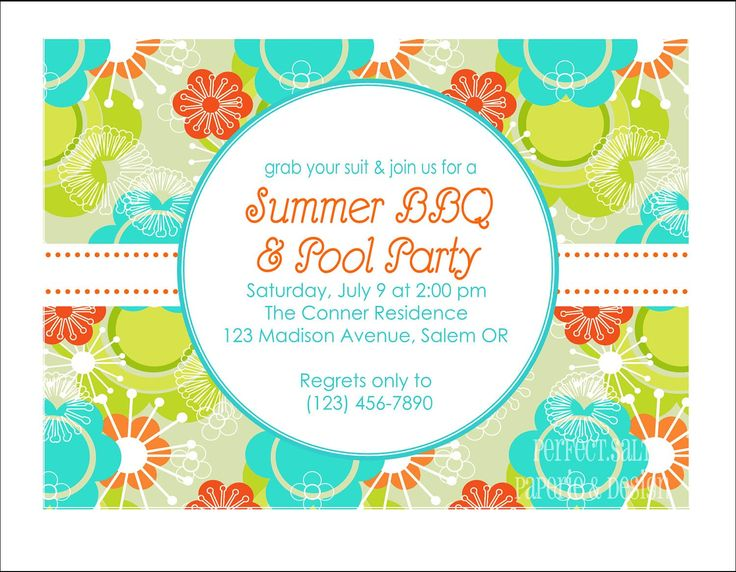 246 best images about BBQ – Bbq Party Invitation Wording