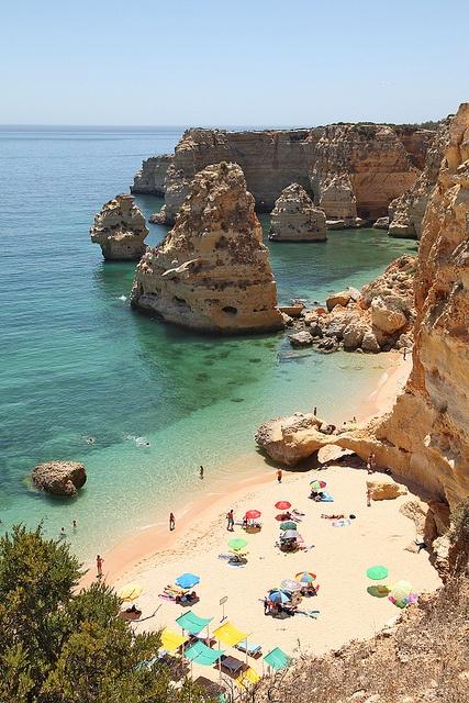 Algarve, Portugal, by Gabriel Soeiro Mendes, via Flickr