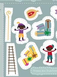 Sinterklaas game printable.