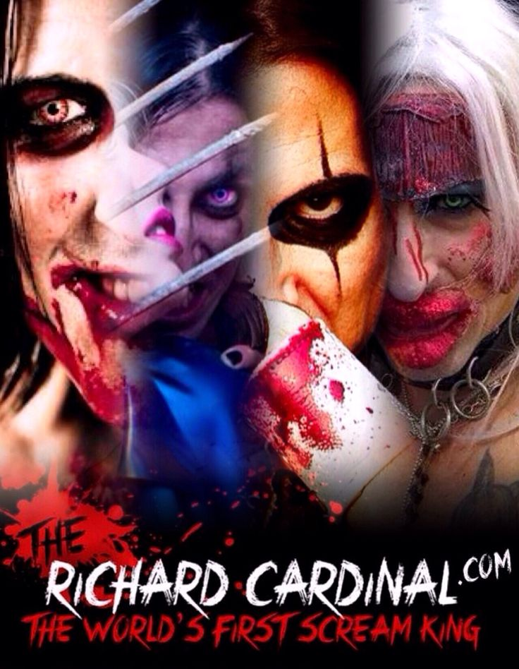 The Richard Cardinal is The World s First Scream King ! Join him : www.TheRichardCardinal.com