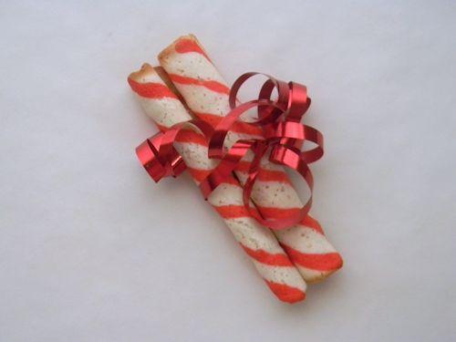 Bastoncini morbidi alle rose - Candy-Stripe Cookie Sticks