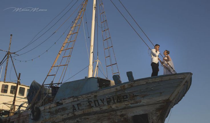 Love boat wedding dresses by Wedding Photography by Studio Filmmari Marian Moraru