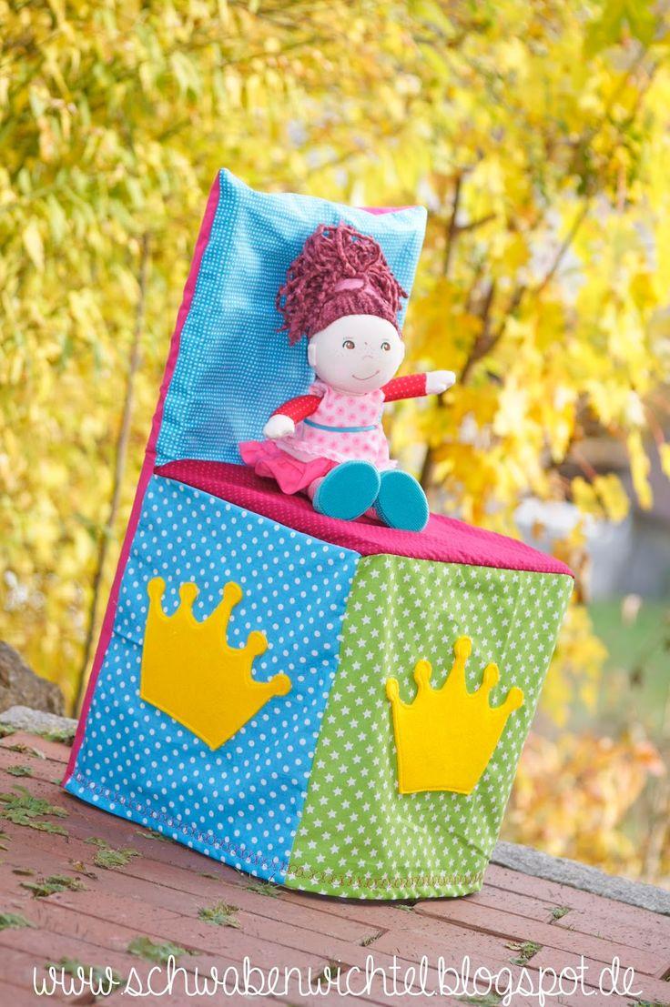 Schwabenwichtel: Ein Geburtstagsstuhl für unseren Kindergarten