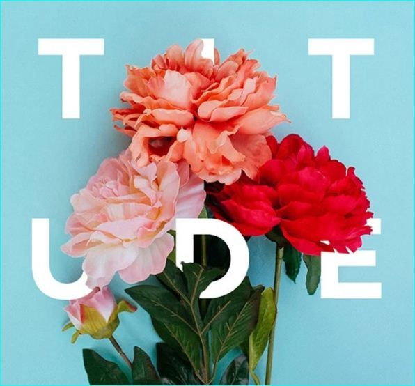 32 Floral Typography Design You'll Be Inspired By