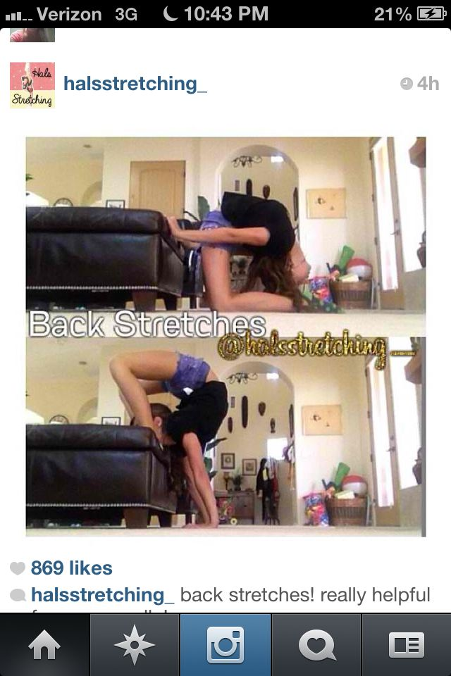 Good back stretch for getting your scorpion and needle!
