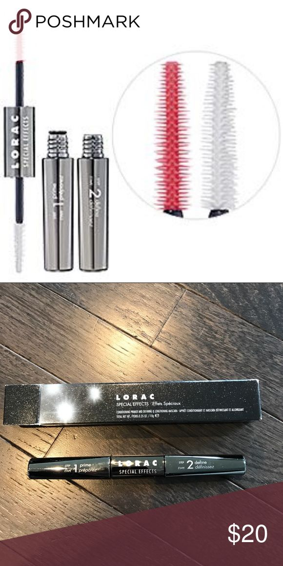 Lorac Special Effects Mascara Double Ended to prime, condition and define lashes. New Sephora Makeup Mascara