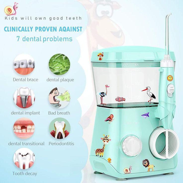 Liberex water flosser for kids for teethbraces 600ml