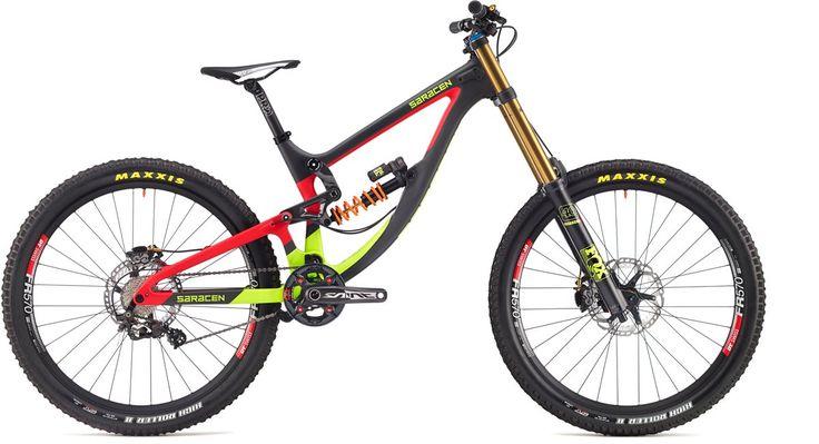 Saracen Myst Team Mountain Bike 2017 - Full Suspension MTB