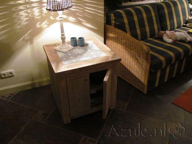Cement Tiles Furniture - gris 06 - Project van Designtegels.nl