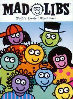 Mad Libs to teach parts of speech...Kids love to see Mad Libs in the language center :)
