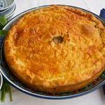 Татарский мясной пирог