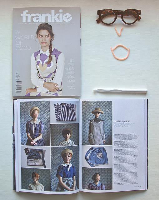 Yokoo in Frankie Magazine