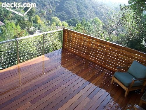 Ipe Deck/ Handrail