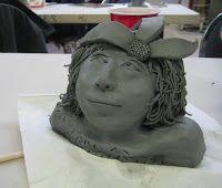 Mrs. Art Teacher!: clay faces